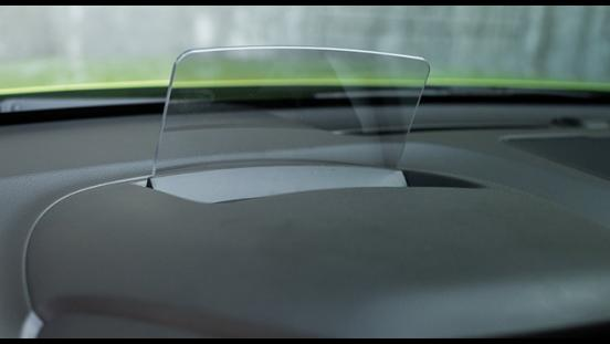 Hyundai Kona 2018 head-up display