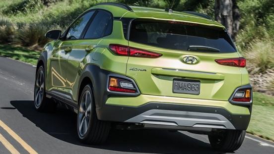Hyundai Kona 2018 rear