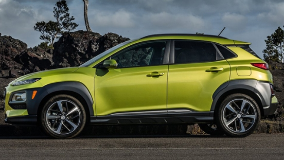 Hyundai Kona 2018 side