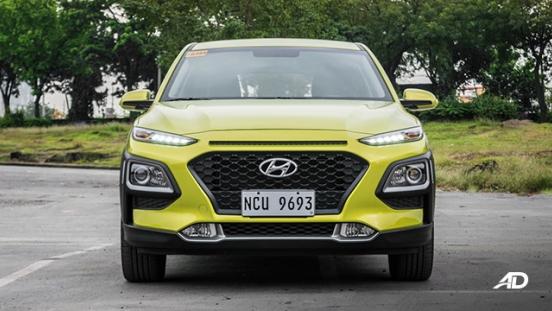Hyundai Kona road test exterior front