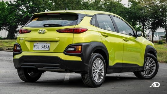 Hyundai Kona road test exterior rear