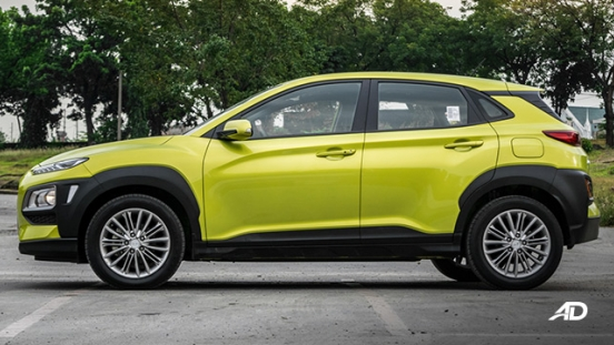 Hyundai Kona road test exterior side philippines