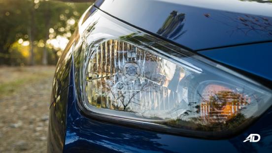 hyundai reina road test exterior headlights philippines