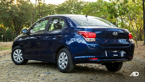 hyundai reina road test exterior rear quarter philippines