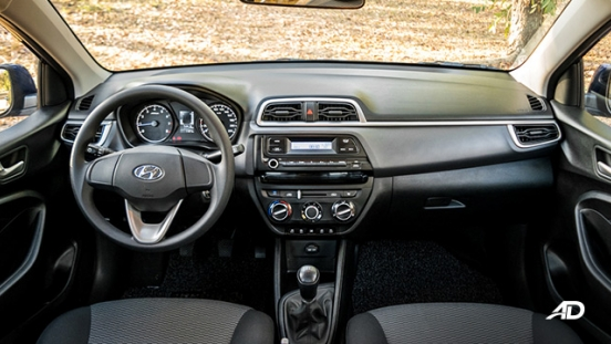 hyundai reina road test interior dashboard