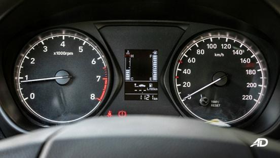 hyundai reina road test interior instrument cluster