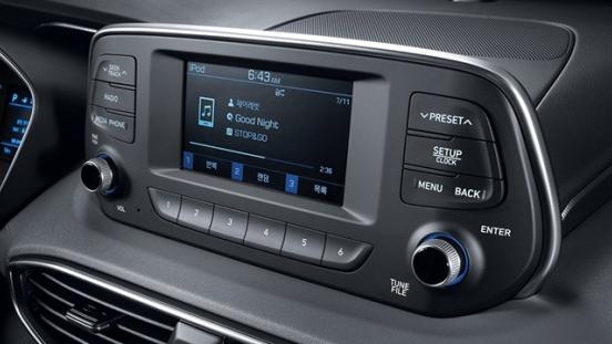 Hyundai Santa Fe 2019 radio