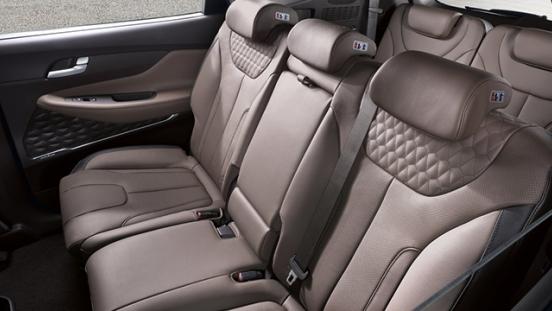 Hyundai Santa Fe 2019 seats