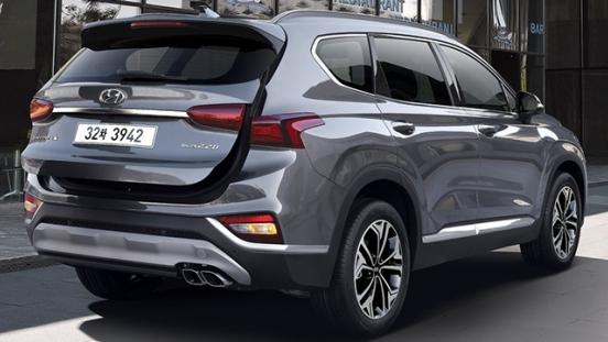 Hyundai Santa Fe 2019 tailgate