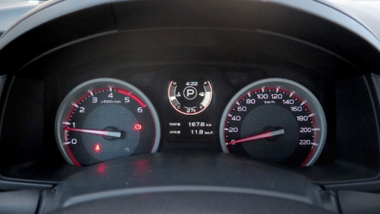 Isuzu D-Max Gauges