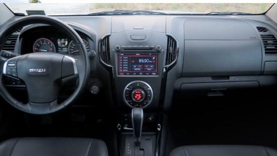 Isuzu D-max interior