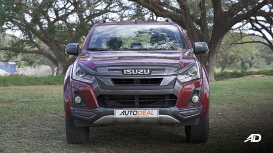 isuzu d-max review road test front exterior philippines