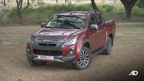 isuzu d-max review road test front quarter beauty shot exterior