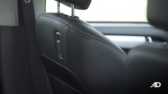 isuzu d-max review road test rear latch interior philippines