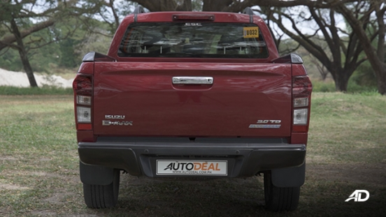 isuzu d-max review road test rear view exterior philippines