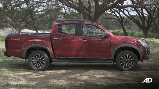 isuzu d-max review road test side view exterior philippines