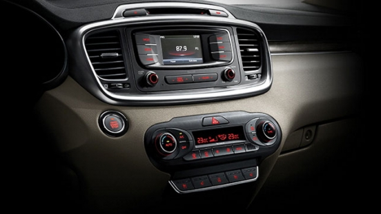 Kia All-New Sorento 2018 entertainment unit