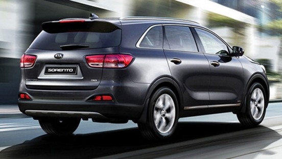 Kia All-New Sorento 2018 rear