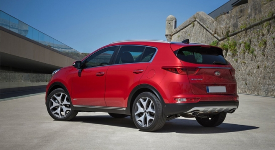 Kia All-New Sportage 2018 rear