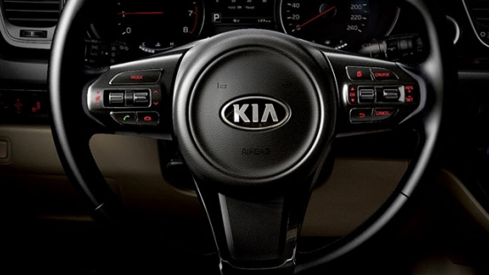 Kia Grand Carnival 2018 steering wheel