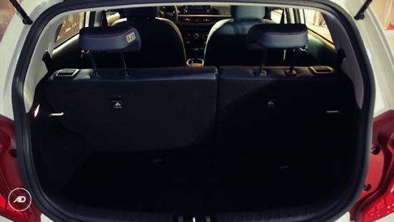 Kia Picanto 2018 trunk