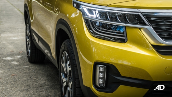 kia seltos review road test led headlights exterior philippines