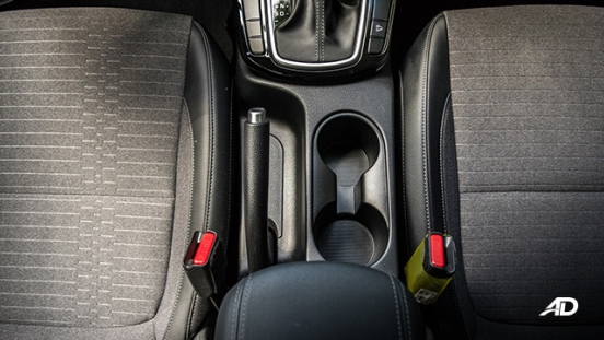 kia seltos review road test seats cupholder interior philippines