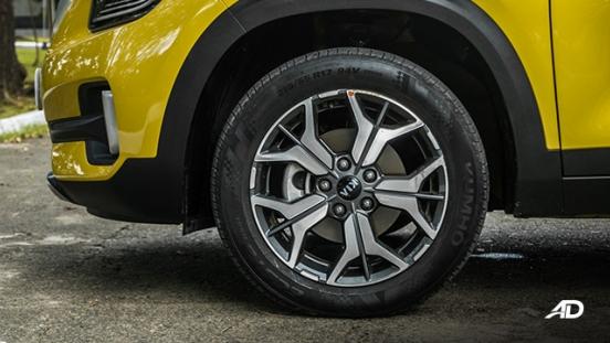 kia seltos review road test wheels exterior philippines