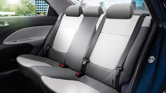 Kia Soluto Philippines Interior Rear Seats