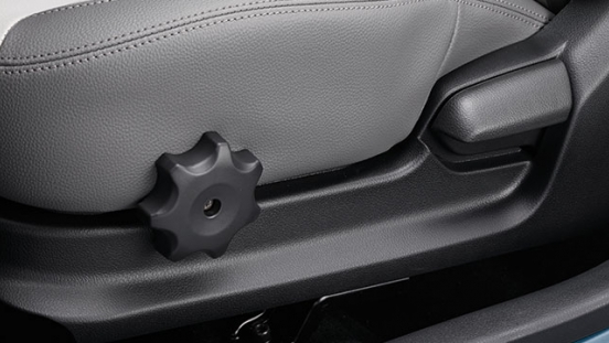 Kia Soluto Philippines Interior Seat Adjustment Controls
