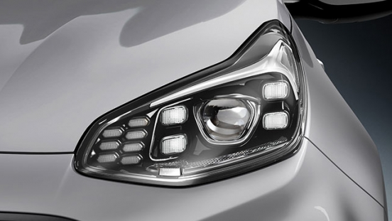 Kia Sportage Philippines LED headlamps