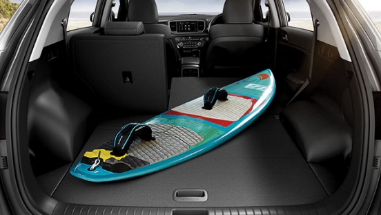 Kia Sportage Philippines Rear Cargo Area