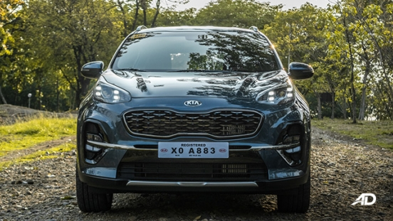 kia sportage review road test front exterior