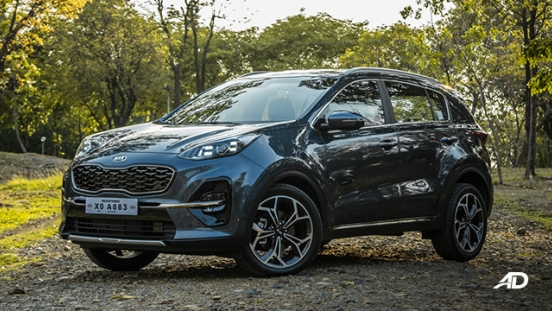 kia sportage review road test front quarter exterior philippines