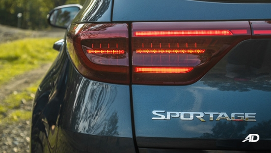 kia sportage review road test lead taillights exterior philippines
