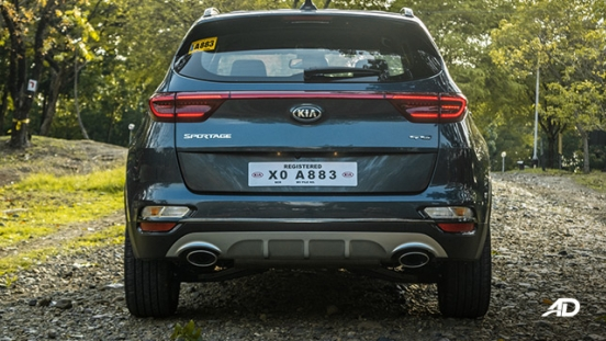 kia sportage review road test rear exterior philippines