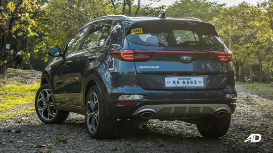 kia sportage review road test rear quarter exterior