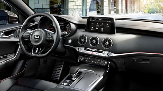 Kia Stinger Philippines Interior Dashboard