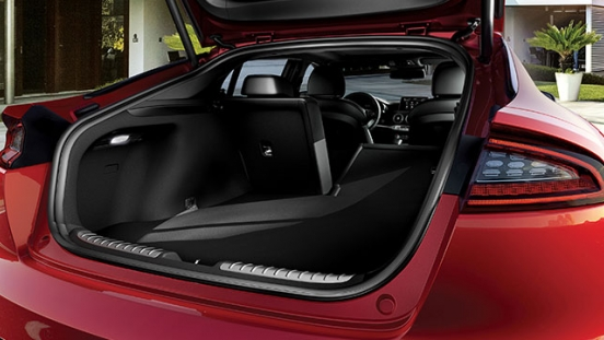 Kia Stinger Philippines Rear Lift back cargo space