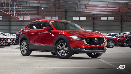 mazda cx-30 beauty shot front quarter exterior philippines