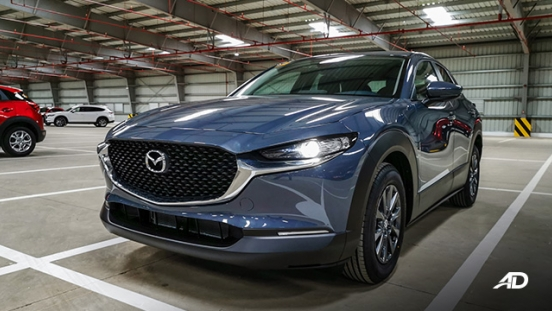 mazda cx-30 beauty shot polymetal gray exterior philippines