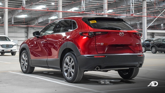 mazda cx-30 beauty shot rear quarter exterior philippines