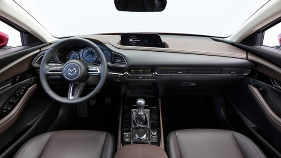 mazda cx-30 press photo dashboard interior philippines