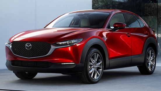 mazda cx-30 press photo front quarter exterior