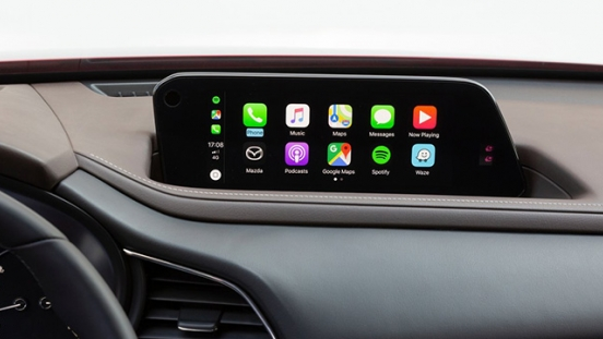 mazda cx-30 press photo infotainment interior apple carplay philippines