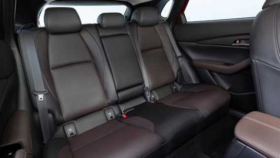 mazda cx-30 press photo rear cabin interior philippines