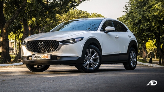 mazda cx-30 review road test front quarter exterior