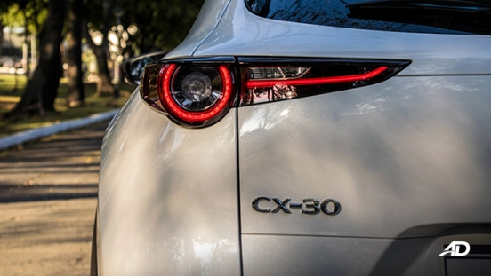 mazda cx-30 review road test led taillights exterior philippines