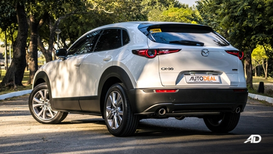 mazda cx-30 review road test rear quarter exterior