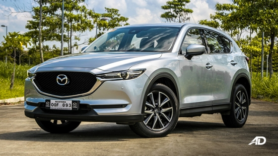 mazda cx-5 road test exterior front philippines